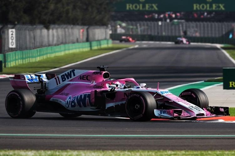 Sergio Pérez - Racing Point Force India F1 Team - Autodromo Hermanos Rodriguez