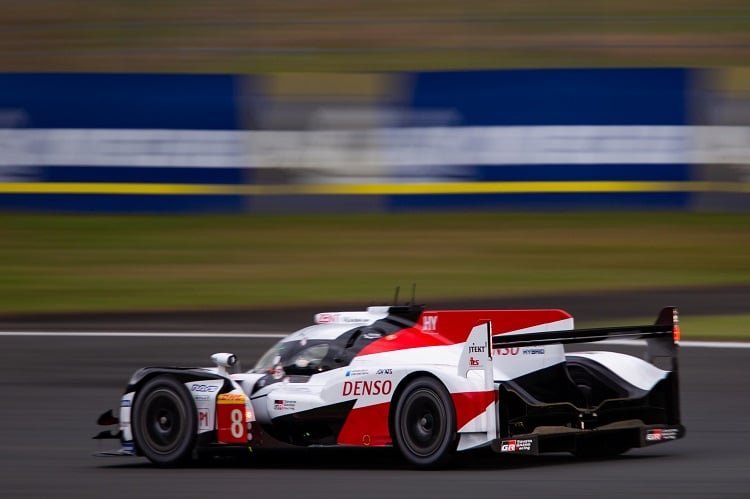 Toyota Gazoo Racing have taken their fourth front row lock out of the season.