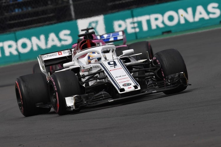 Marcus Ericsson - Formula 1 - 2018 Mexican GP