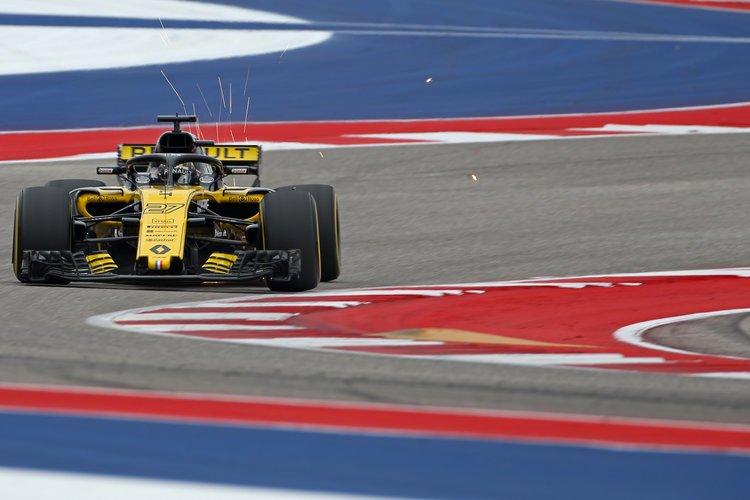 Nico Hülkenberg - Renault Sport Formula One Team - Circuit of the Americas