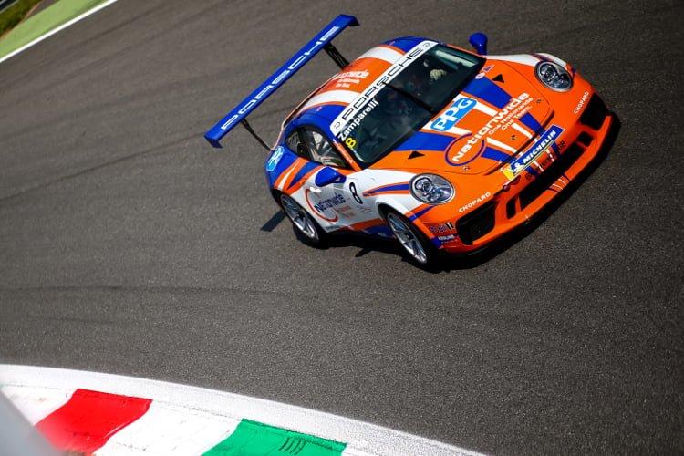 Dino Zamparelli - Credit: Porsche GB Dan Bathie