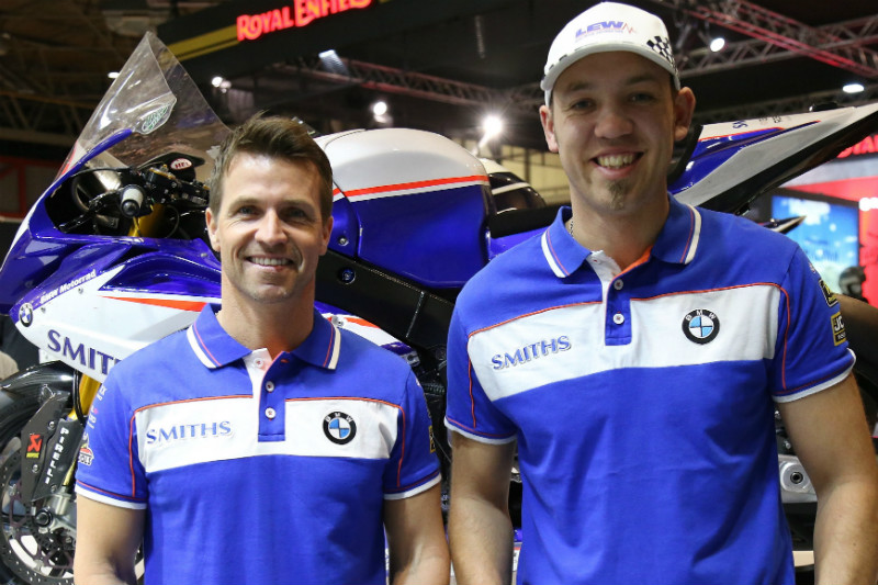 Ellison and Hickman at Smiths Racing BMW