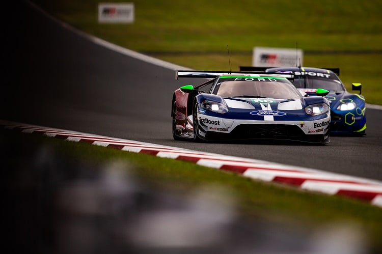 The Le Mans winning Porsche GT Team has a strong championship lead on the Ford Chip Ganassi Team UK going into the 6 Hours of Shanghai