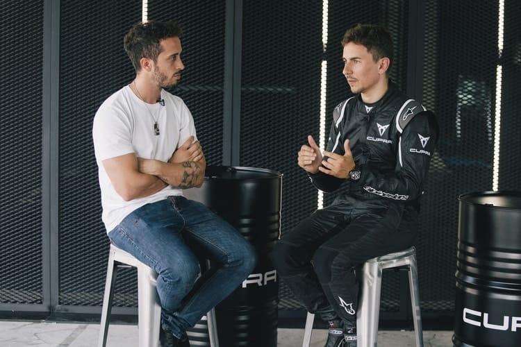 Jorge Lorenzo and Andrea Dovizioso
