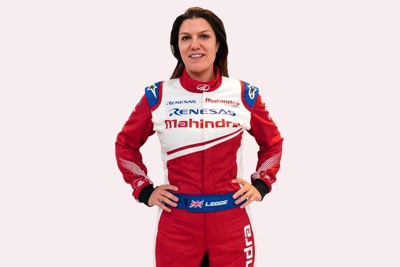 Katherine Legge- Mahindra Racing tester