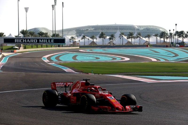 Charles Leclerc - Formula 1 - 2018 Abu Dhabi Test