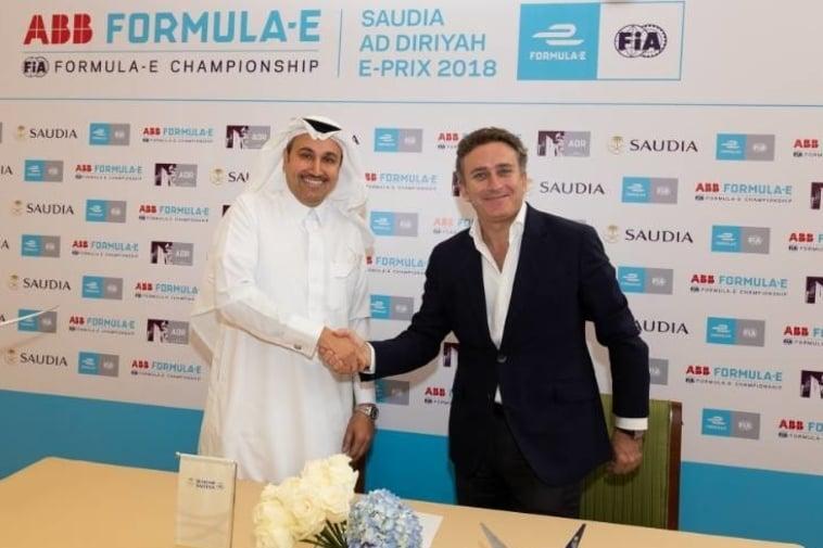 Saudi Arabia announces 10-year deal with Formula E