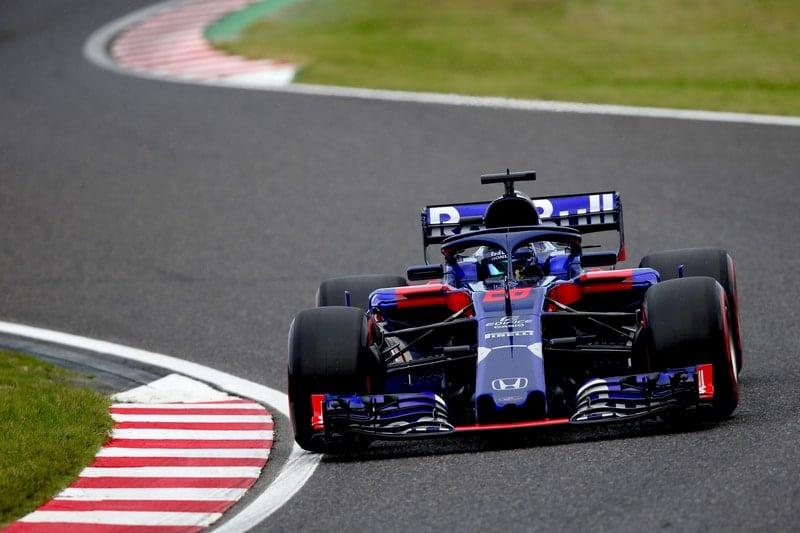Brendon Hartley - Formula 1 - 2018 Japanese GP