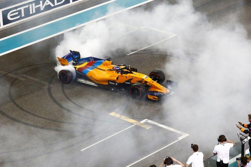 Fernando Alonso - Formula 1 - 2018 Abu Dhabi GP
