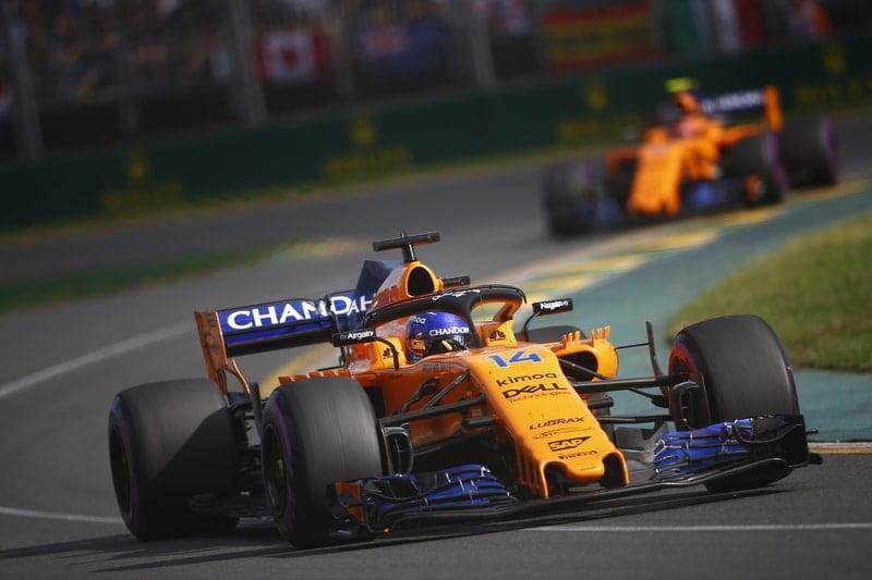 Fernando Alonso & Stoffel Vandoorne - Formula 1 - 2018 Australian GP