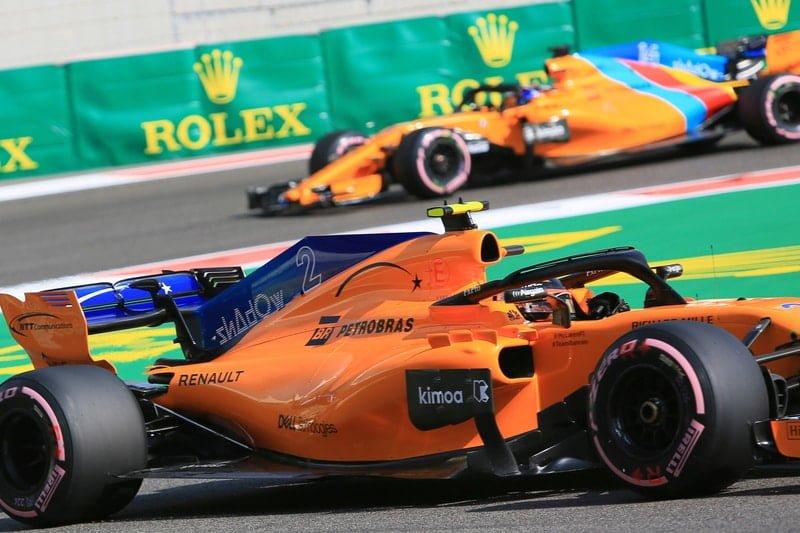 Stoffel Vandoorne & Fernando Alonso - Formula 1 - 2018 Abu Dhabi GP