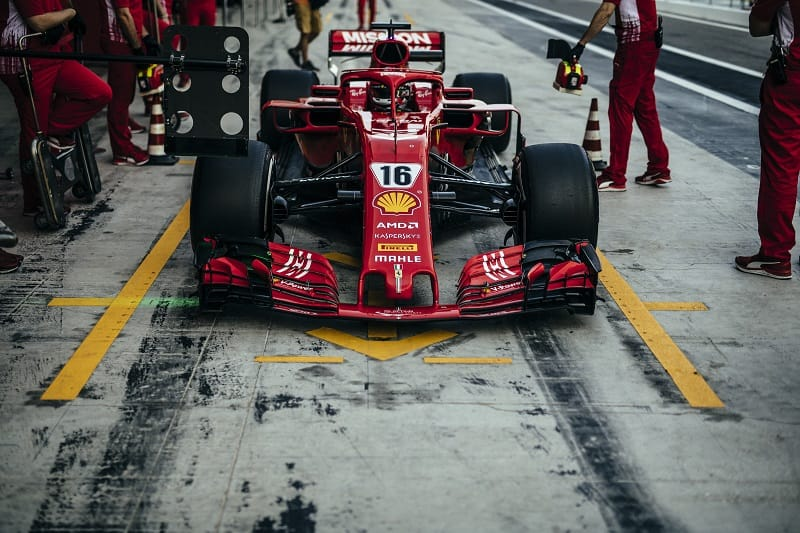 Charles Leclerc - Scuderia Ferrari - Yas Marina Circuit