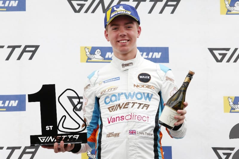 Louis Foster will race with Double R Racing in British F4 in 2019