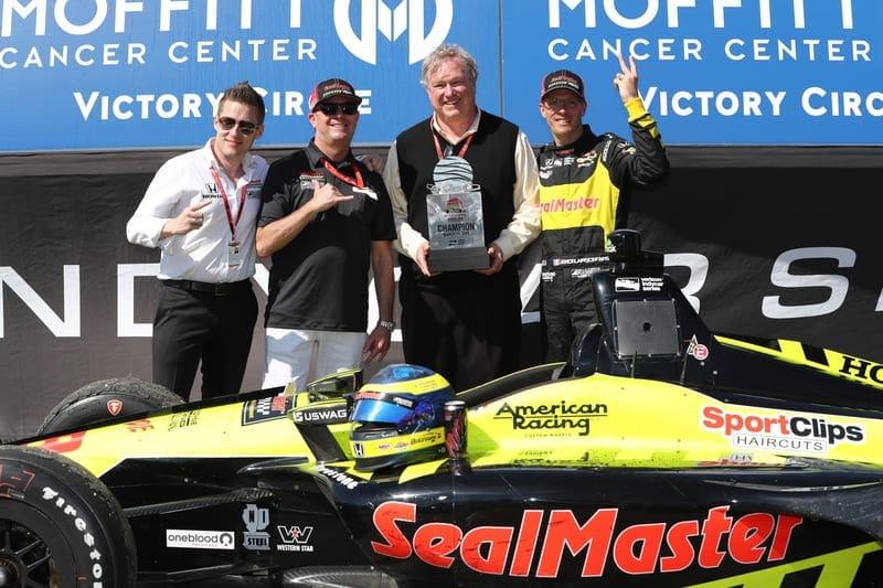 Sebastien Bourdais (FRA), Dale Coyne Racing with Vasser-Sullivan, 2018 Verizon IndyCar Series, St. Petersburg