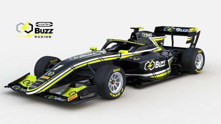 Carlin Buzz Racing - F3 2019 car launch