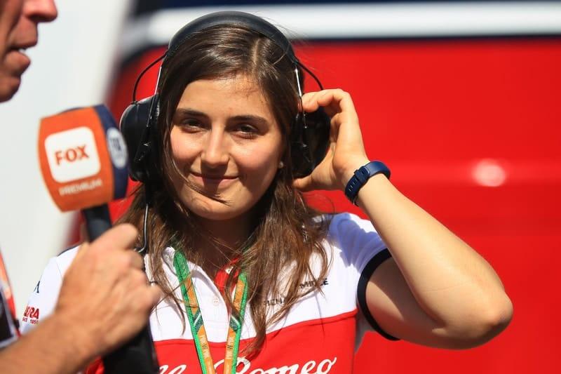 Tatiana Calderón - Formula 1 - 2018 German GP