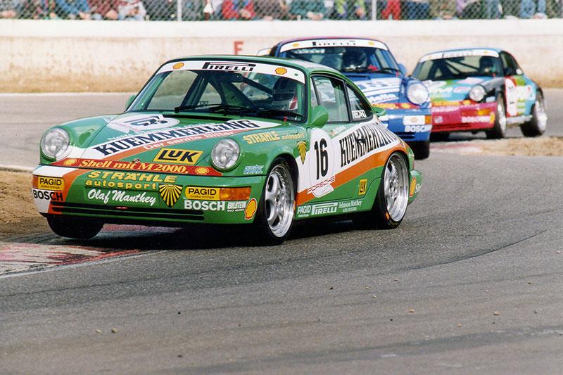 Olaf Manthey - Porsche Carrera Cup Deutschland