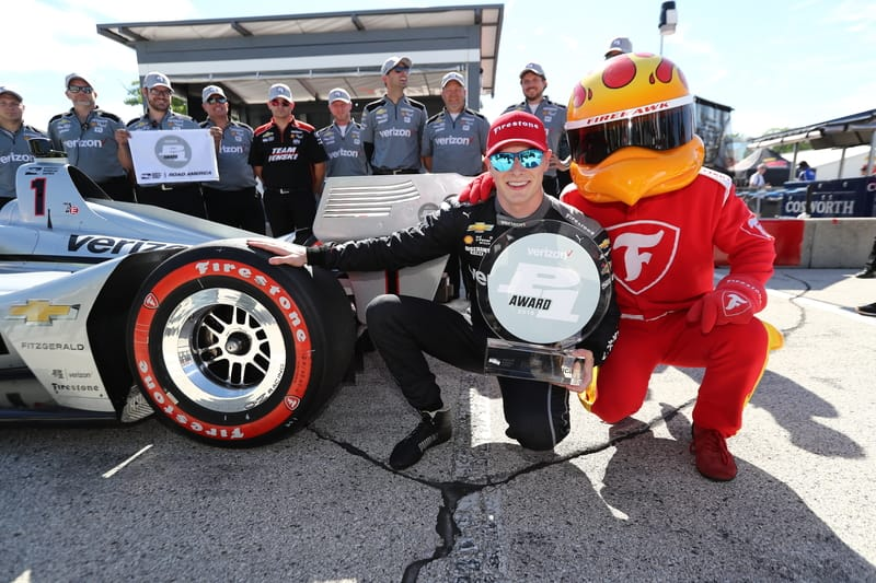 Josef Newgarden (USA), Team Penske, 2018 Verizon IndyCar Series, Road America