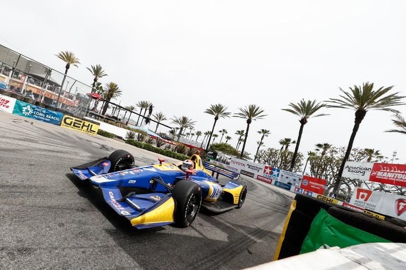 Alexander Rossi (USA), Andretti Autosport, 2018 Verizon IndyCar Series, Long Beach