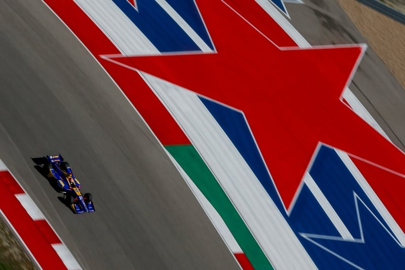 Alexander Rossi (USA), Andretti Autosport, 2019 NTT IndyCar Series, Circuit of the Americas Test