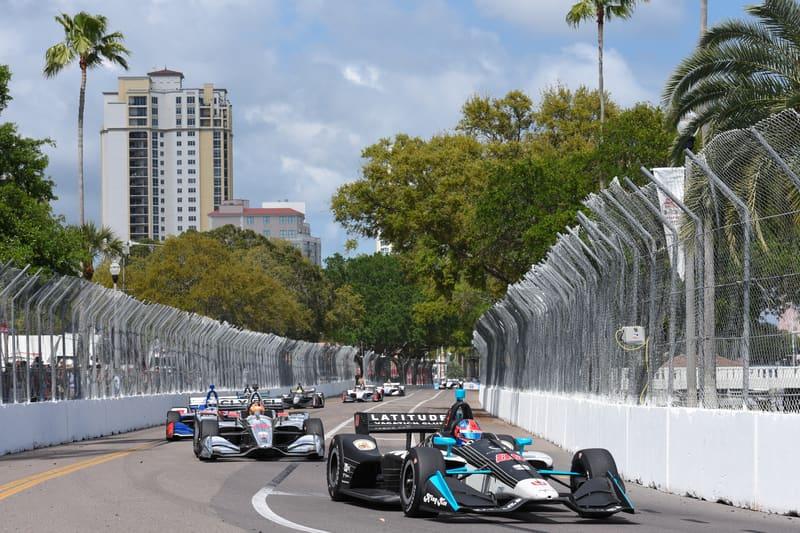 Colton Herta (USA), Harding Steinbrenner Racing, 2019 NTT IndyCar Series, St. Petersburg