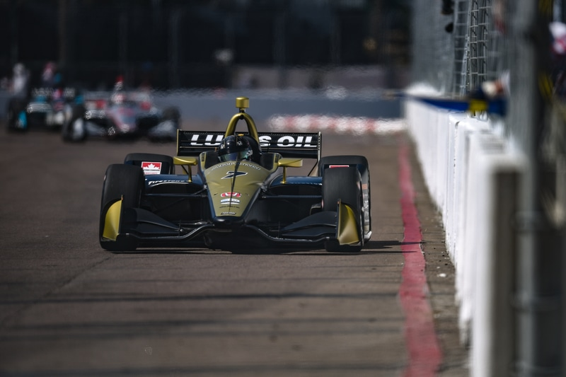 Marcus Ericsson (SWE), 2019 NTT IndyCar Series, Arrow Schmidt Peterson, St Petersburg, Practice