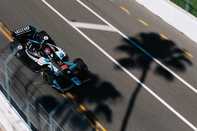 Colton Herta (USA), Harding Steinbrenner Racing, 2019 NTT IndyCar Series, St. Petersburg Practice