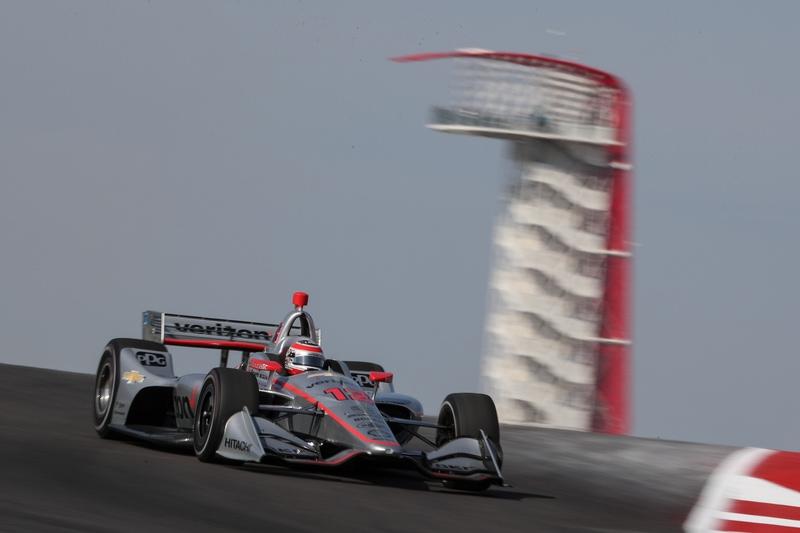 Will Power (AUS), Team Penske, 2019 NTT IndyCar Series, Circuit of the Americas, Practice
