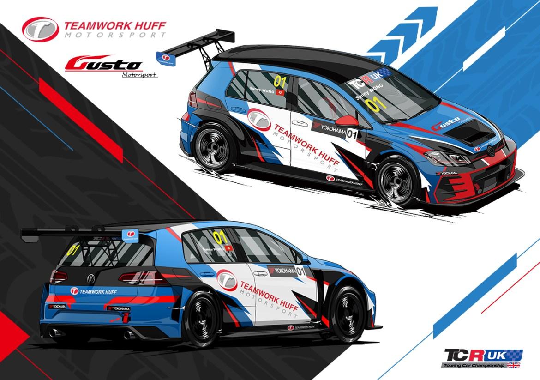 Teamwork-Huff-Motorsport-TCRUK