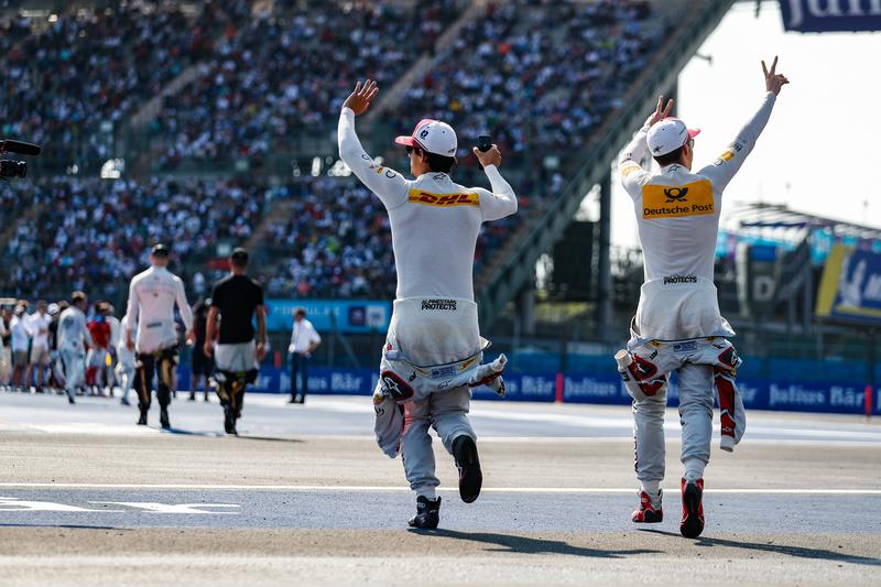 Lucas di Grassi - Daniel Abt - Audi Sport ABT Schaeffler at the 2019 Mexico City E-Prix