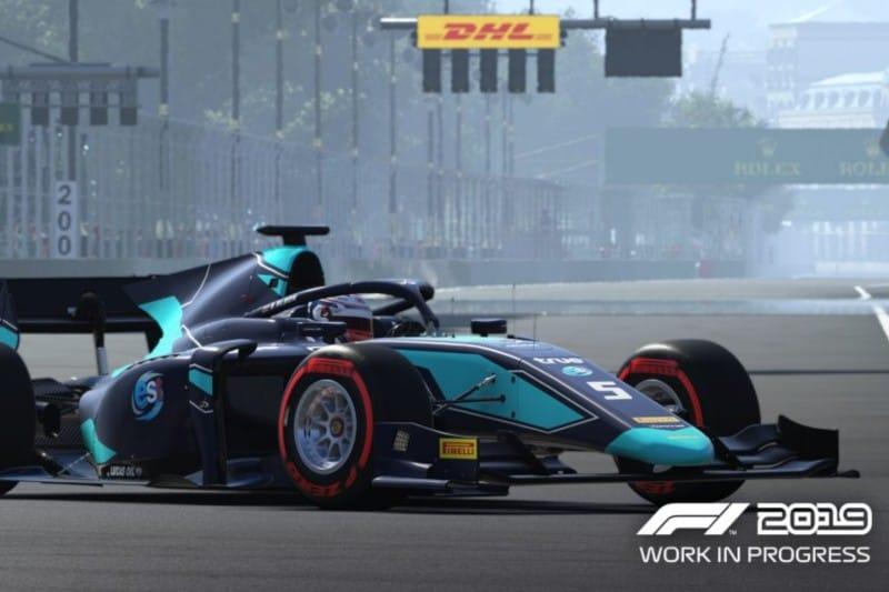 Albon F2 F1 2019 Edit