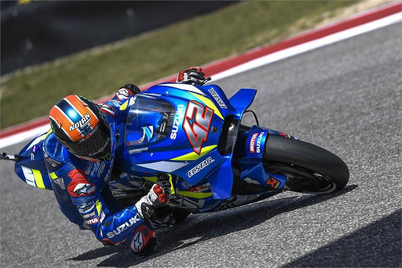 Alex Rins takes maiden MotoGP win at COTA