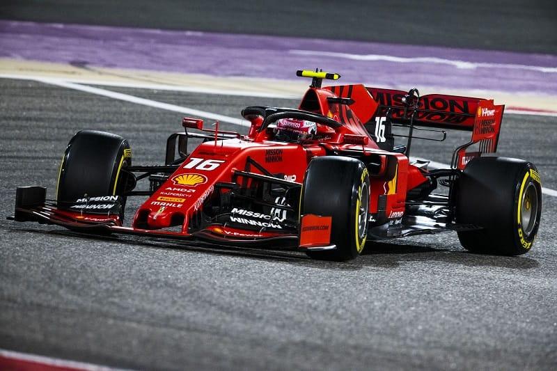 Charles Leclerc - Scuderia Ferrari Mission Winnow - Sakhir International Circuit