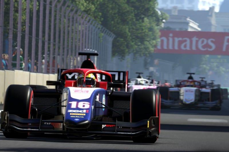 F2 Baku - F1 2019