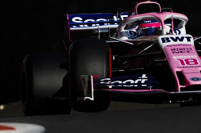 Lance Stroll - SportPesa Racing Point F1 Team - Baku City Circuit
