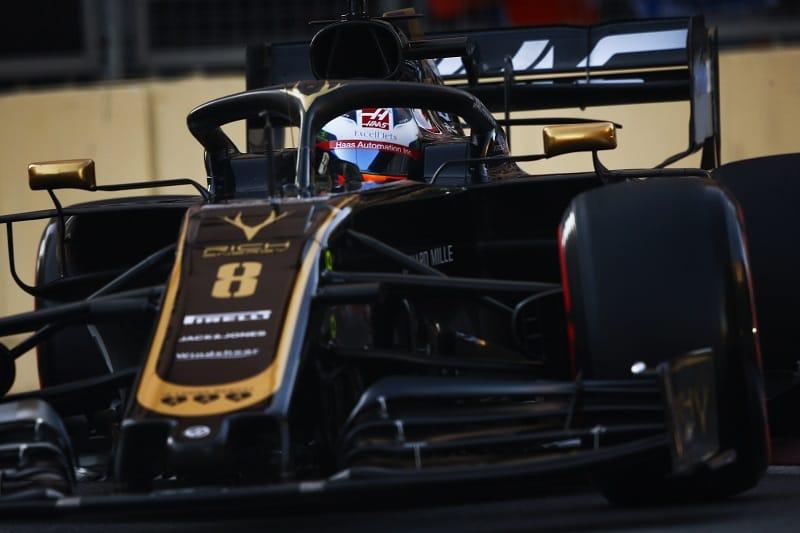 Romain Grosjean - Rich Energy Haas F1 Team - Baku City Circuit