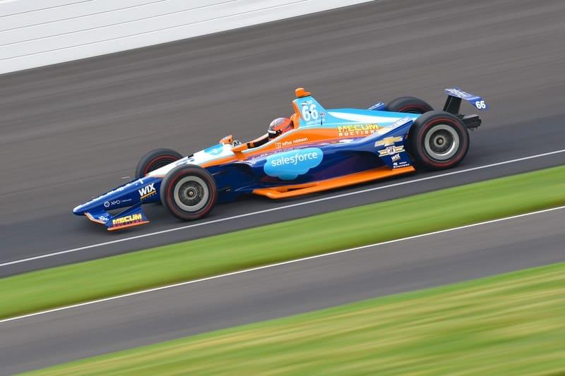 JR Hildebrand (USA), Dreyer & Reinbold Racing, 2018 Verizon IndyCar Series, Indianapolis 500