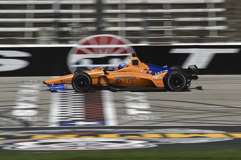 Fernando Alonso (ESP), McLaren, 2019 NTT IndyCar Series, Texas Motor Speedway