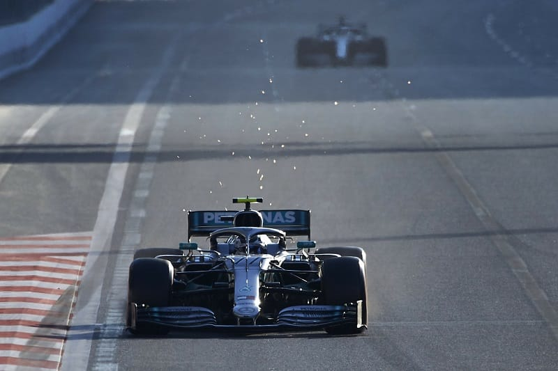 Valtteri Bottas - Mercedes AMG Petronas Motorsport - Baku City Circuit