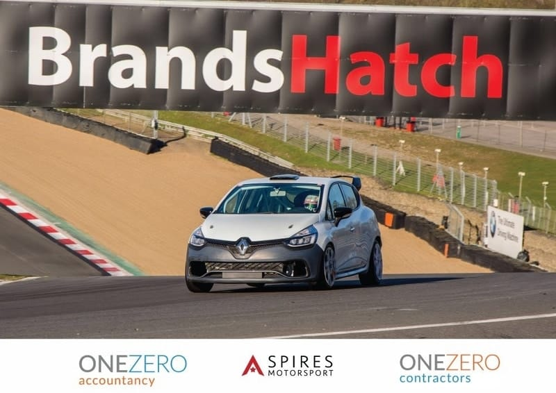 Anton Spires Renault UK Clio Cup