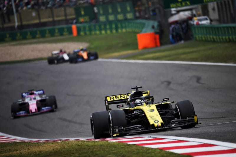 Daniel Ricciardo - Renault F1 Team at the 2019 Formula 1 Chinese Grand Prix - Shanghai International Circuit - Race
