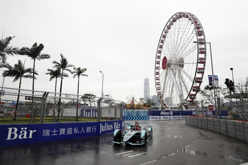 Mitch Evans - Panasonic Jaguar Racing - 2019 Hong Kong ePrix - Practice