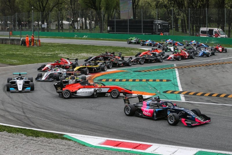 Turn one at Monza caused havoc