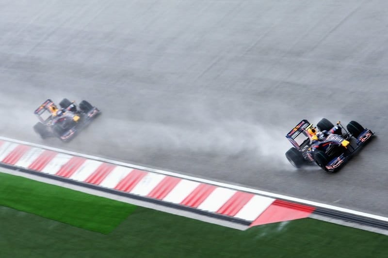 Sebastian Vettel & Mark Webber - 2009 Chinese Grand Prix - Shanghai International Circuit