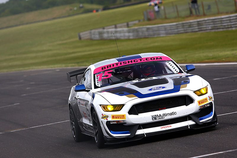 Scott Maxwell took pole for round 3 of the British GT Championship.