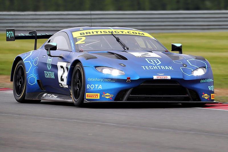 Nikki Thiim and Mark Farmer's TF Sport Aston Martin V8 Vantage GT3.