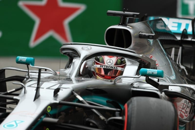 Hamilton - FP2 - Mercedes