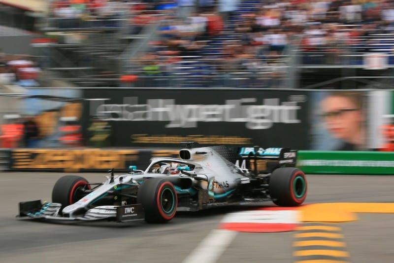 Hamilton - Mercedes - FP1 Monaco