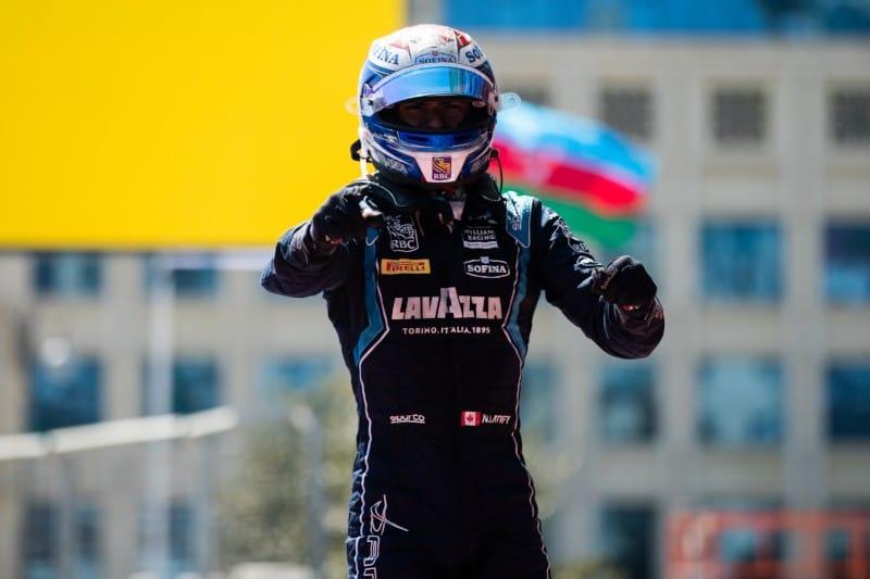 Latifi - F2 Baku Sprint Win 2019