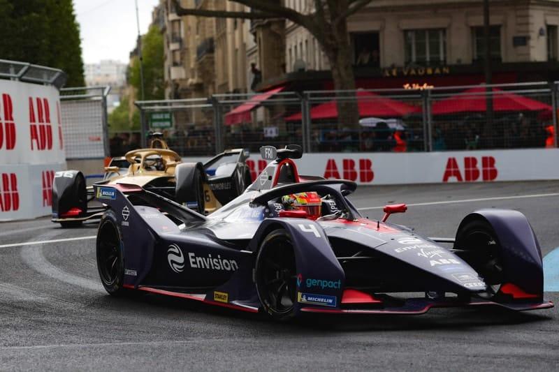 Robin Frijns and Andre Lotterer - Paris ePrix